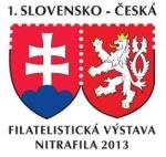 1. Slovensko – Česká filatelistická výstava NITRAFILA 2013