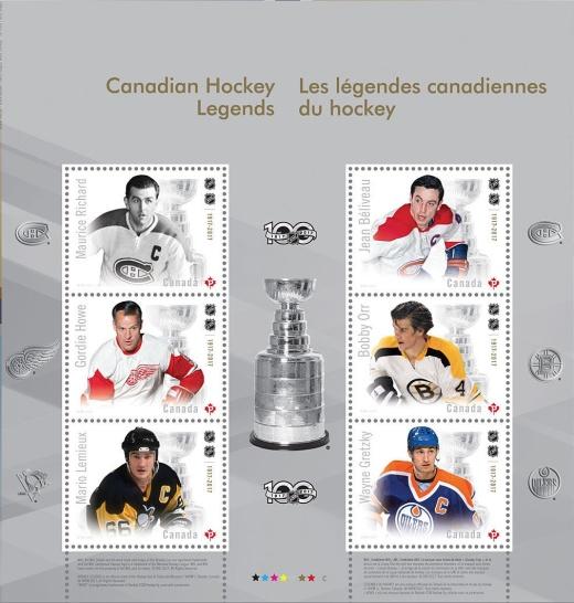 100 let NHL