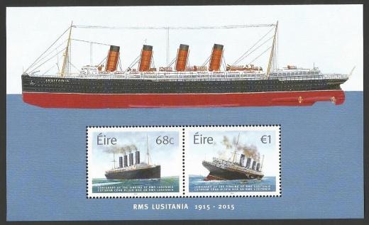 100 let od potopení poštovního parníku Lusitania