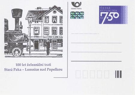 100 let železniční trati Stará Paka – Lomnice nad Popelkou