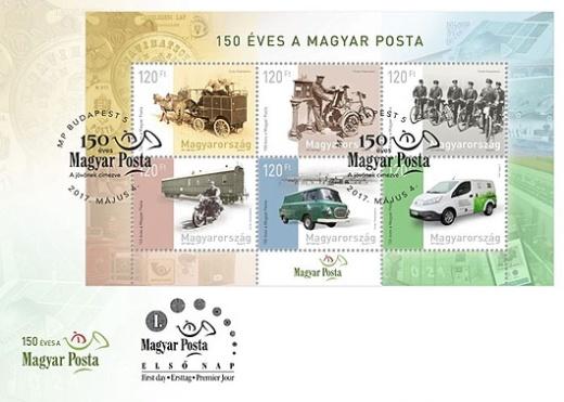 150 let maďarské pošty