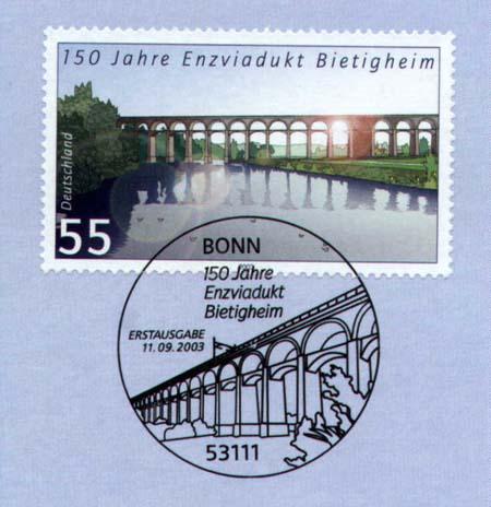 150 let viaduktu přes Enz