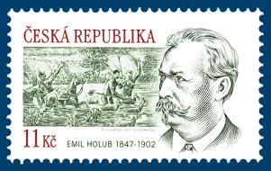 160. výročí narození cestovatele Emila Holuba (1847-1902)