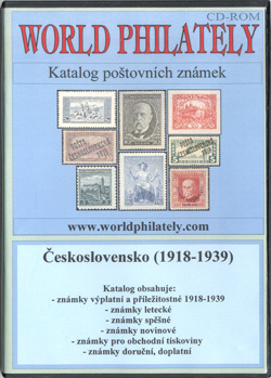 Obal CD World Philately 2005 - Československo I. (1918-1939)