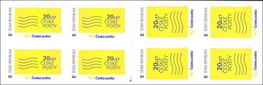 20 let �esk233 pošty sp zn225mkov253 sešitek filatelie