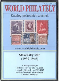 Obal CD World Philately 2006 - Slovenský stát (1939-1945)