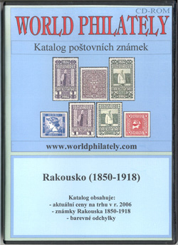 Obal CD World Philately 2006 - Rakousko (1850-1918)