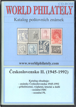 Obal CD World Philately 2006 - Československo II. (1945-1992)