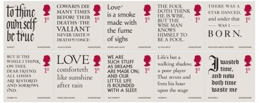 400 let od narození Williama Shakespeara