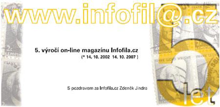 5. výročí našeho on-line magazínu Infofila.cz