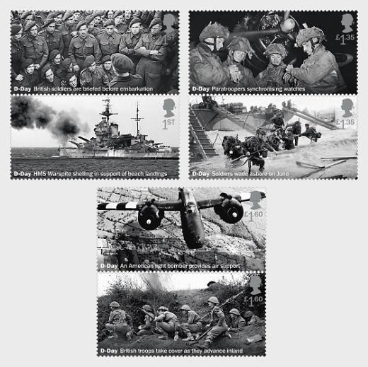75. výročí bitvy o Normandii