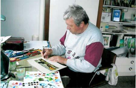 Akademický maliar Ivan Schurmann oslávil 70. narodeniny