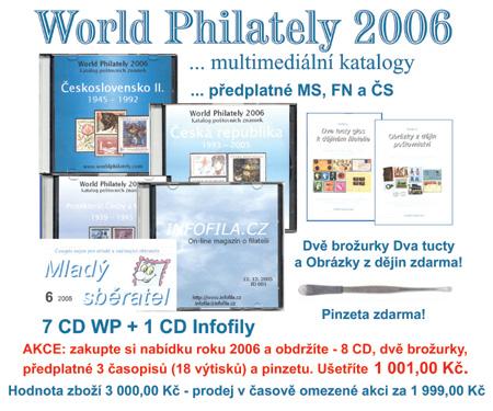Akce: nabídka roku 2006 - 8 CD, 3 periodika, 2 brožurky a pinzeta - velmi výhodné