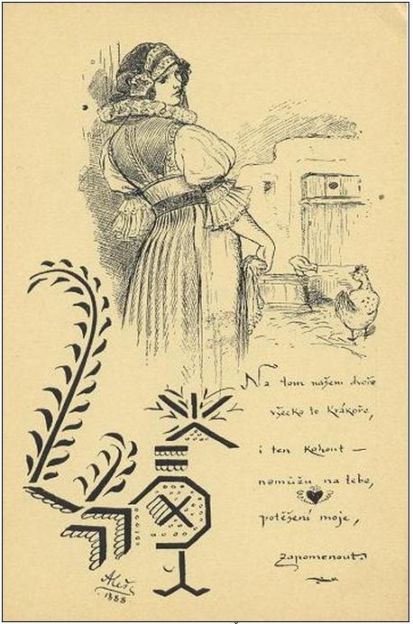 Alšovy pohlednice - III. Ze života