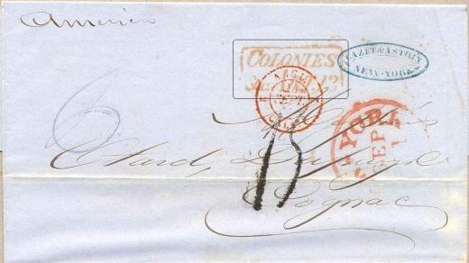 Anglo-francouzská poštovní smlouva z roku 1836