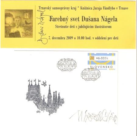 Beseda detí s ilustrátormi kníh a tvorcami poštových známok