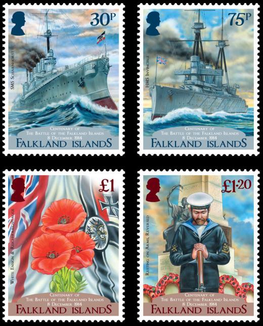 Bitva u Falklandských ostrovů - 1914