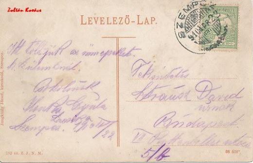 Bratislavská ulica okolo r. 1910