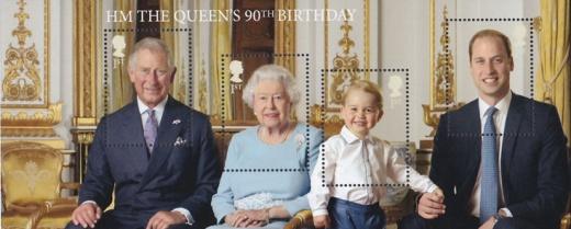 Britská královna slaví 90. narozeniny