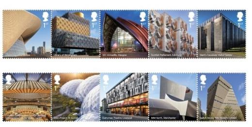 Britská moderní architektura