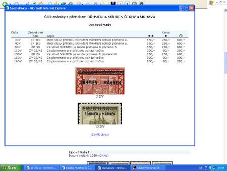 CD-ROM World Philately 2006 - Protektorát Čechy a Morava (1939-1945)