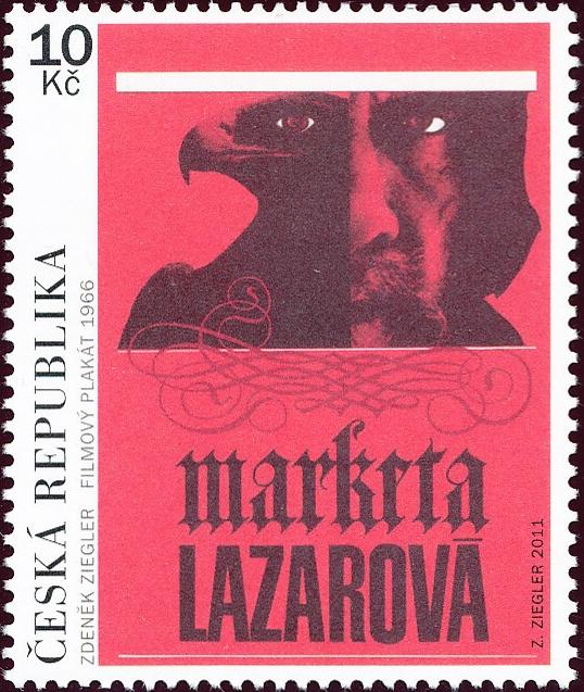 Český filmový plakát - Markéta Lazarová
