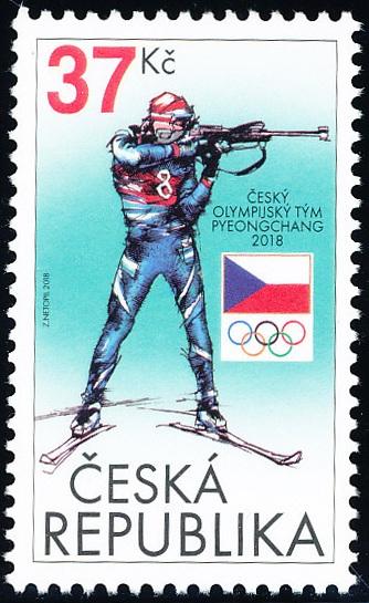 Český olympijský tým 2018