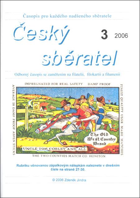 Český sběratel 3/2006
