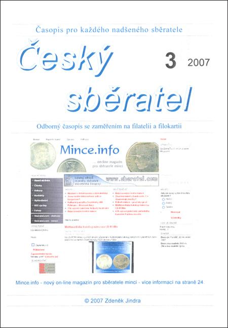 Český sběratel 3/2007