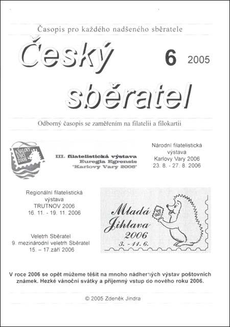 Český sběratel 6/2005