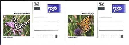 Čeští motýli na dopisnicích – to tu ještě nebylo!
