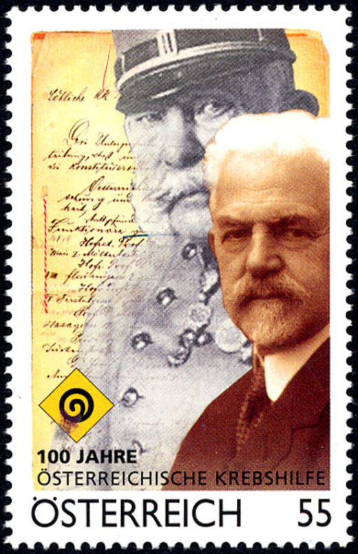 Císař-pán po 100 letech na poštovní známce