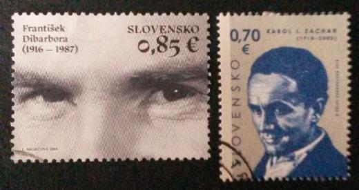 Čo majú spoločné tieto známky?