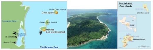 Corn island aMosquitia