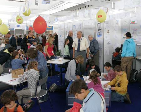 Dětská pošta na Světové výstavě Praga 2008
