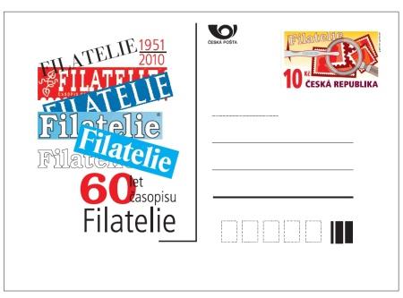 Dopisnice k 60. výročí časopisu Filatelie