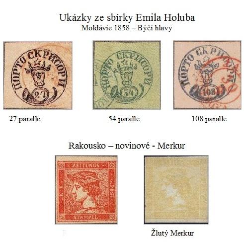 Emil Holub – cestovatel a sběratel poštovních známek