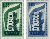 EUROPA - CEPT 1956 -1973 - 1. díl