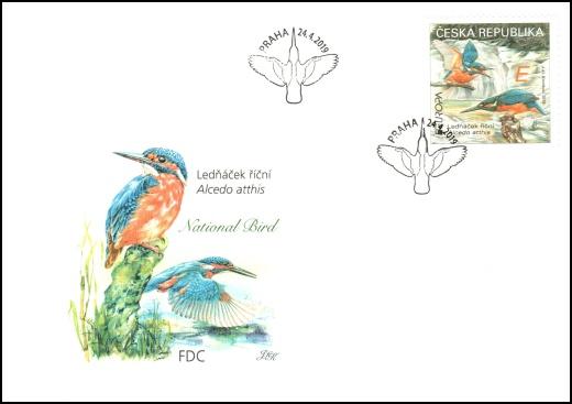 EUROPA - Národní ptáci – Ledňáček říční