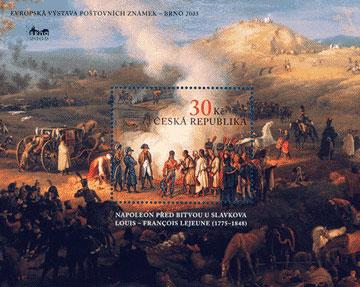 Evropská výstava poštovních známek BRNO 2005 - 200. výročí bitvy u Slavkova