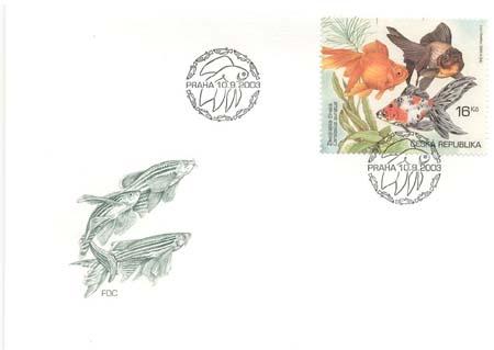 FDC Chovatelství - Akvarijní rybičky 16 Kč