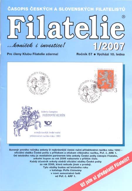 Filatelie 1/2007