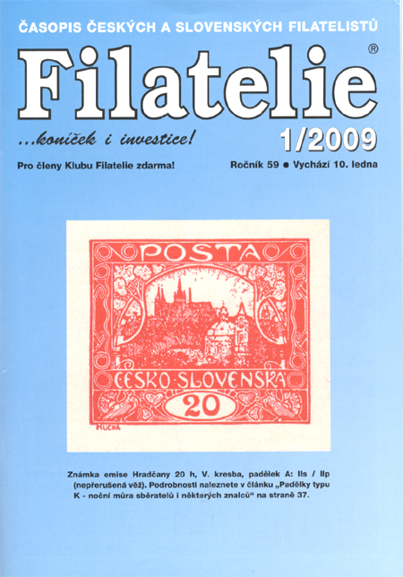 Filatelie 1/2009