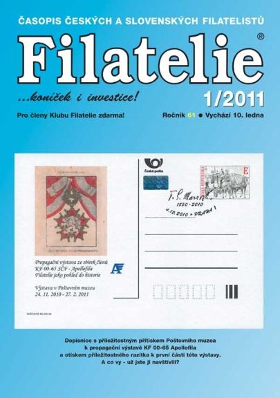Filatelie 1/2011