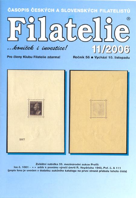 Filatelie 11/2006