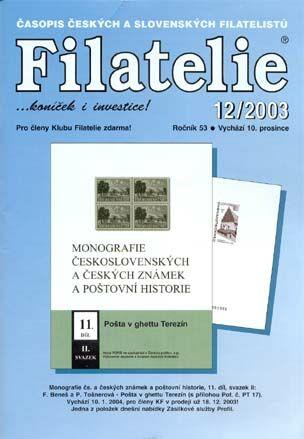 Filatelie 12/2003