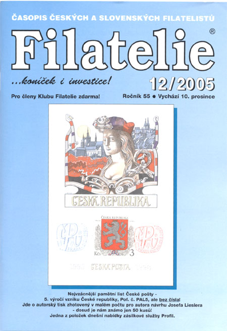 Filatelie 12/2005