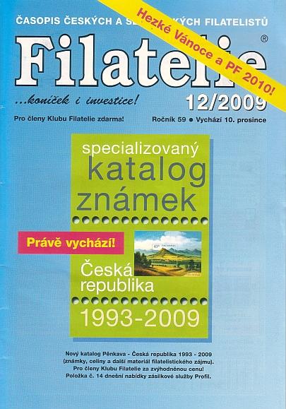 Filatelie 12/2009