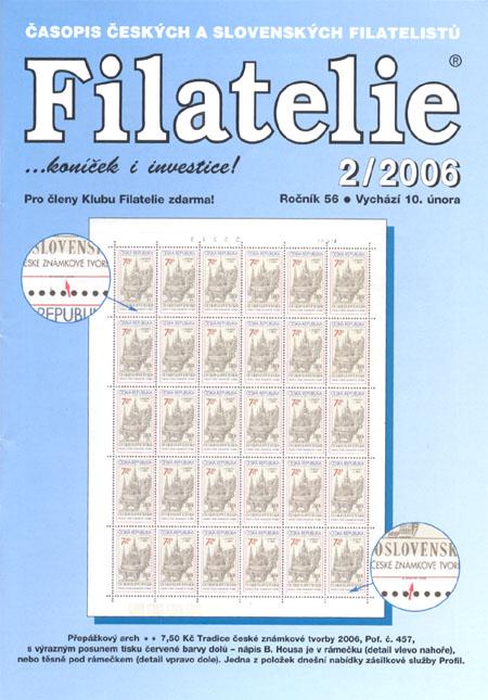 Filatelie 2/2006