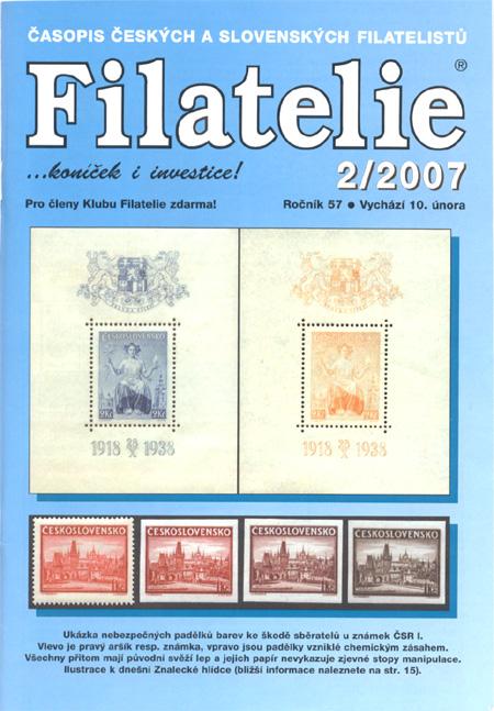 Filatelie 2/2007